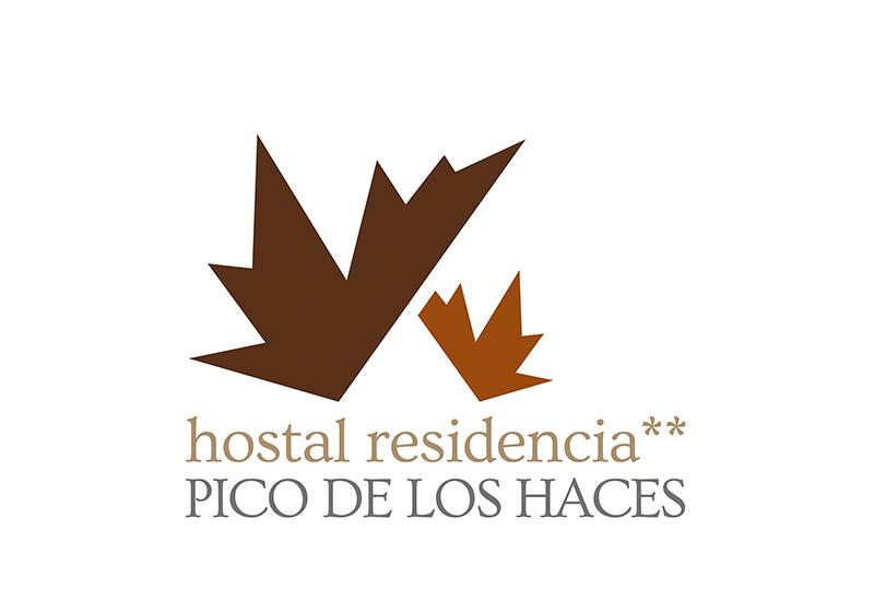 Identidad visual Corporativa Pico de los Haces. Diseño de imagotipo y logotipo.