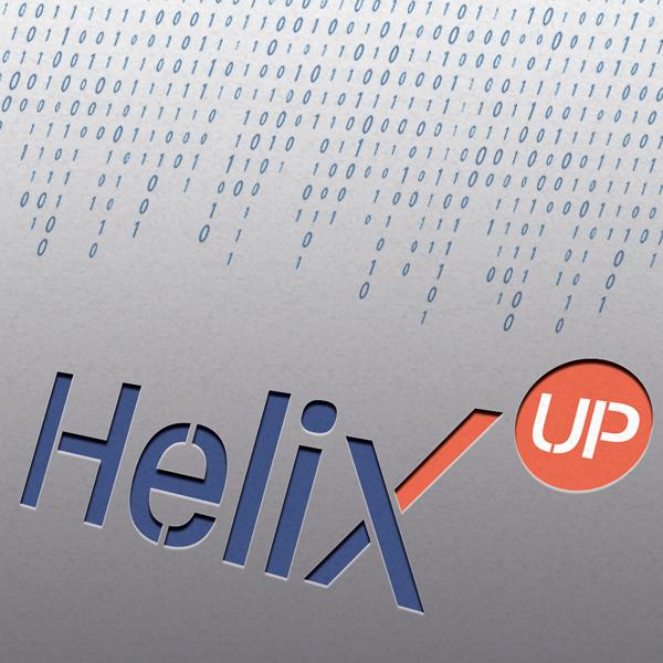 Imagotipo Helix up